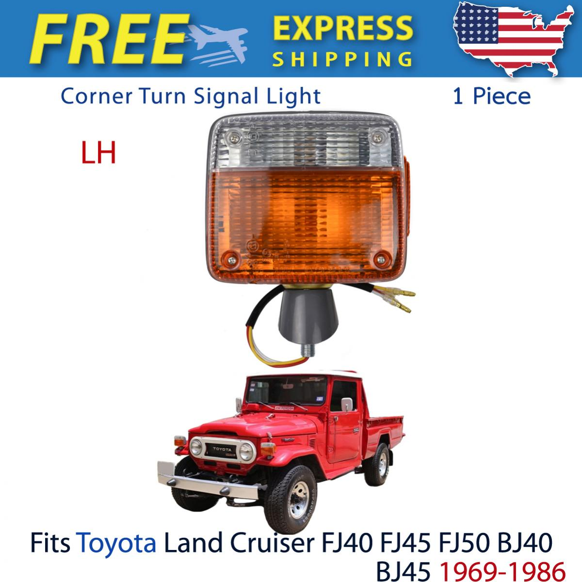 Left Corner Turn Signal Light Lamp Fits Toyota Land